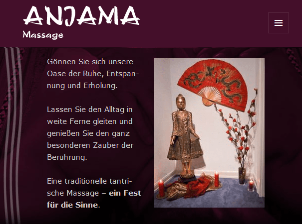 Anjama tantra massage