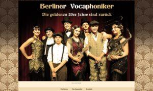 Wordpress-Website Berliner Vocaphoniker