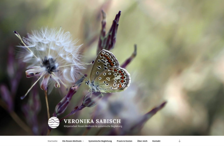 Wordpress-Website Veronika Sabisch